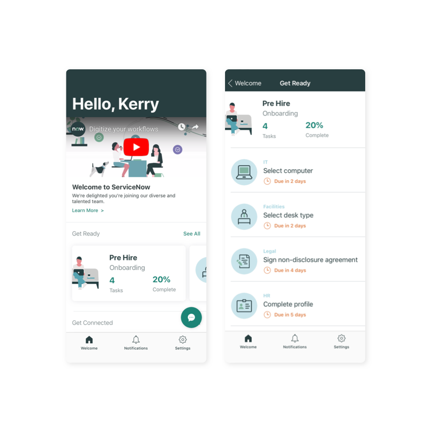 ServiceNow Onboarding app improves employee onboarding